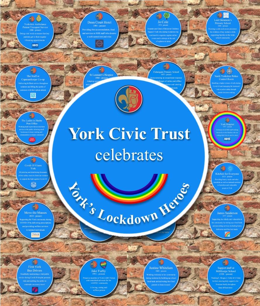 We Re Celebrating York S Lockdown Heroes York Civic Trust